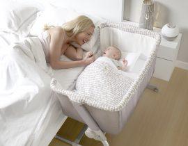 Cuna Colecho Babyside de Jané, una buena opción para el descanso de tu bebé