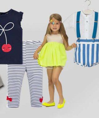 5 conjuntos de primavera para tu bebé
